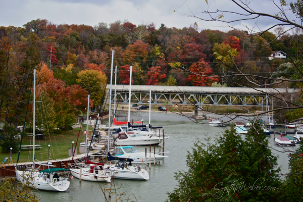 fall colours in Bayfield Ontario