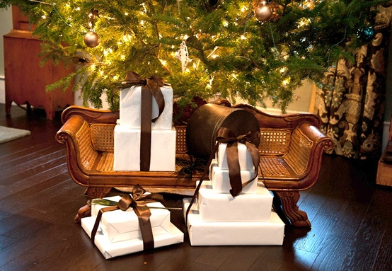 Gifts under tree CynthiaWeber.com