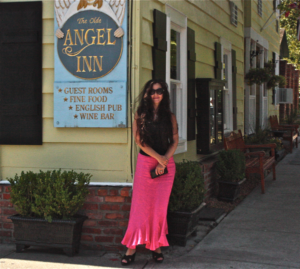 Cynthia Weber in Niagara- on- the- Lake