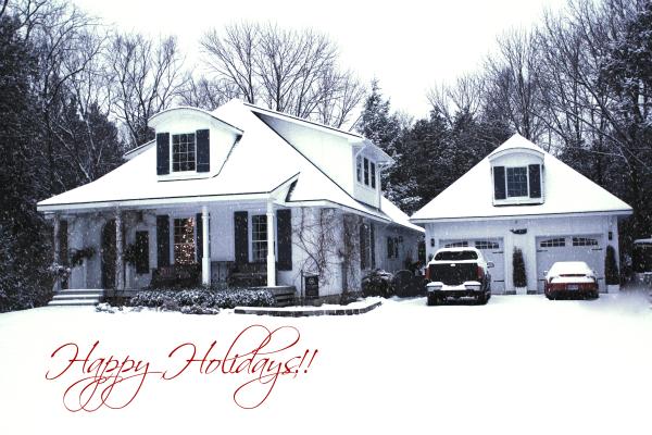 hoop top house Happy Holidays