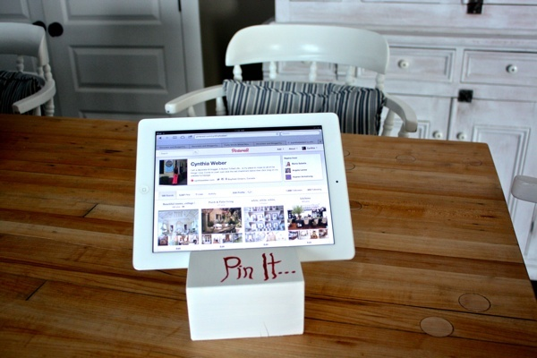 Pin It ipad stand tutorial