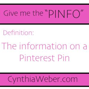 Pinfo cynthiaweber.com