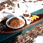 Snow Picnic…and some homemade maple syrup drama…
