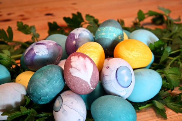 easter eggs cynthiaweber.com