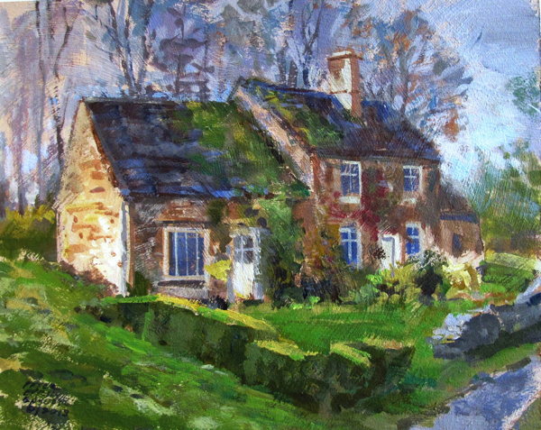 Cotswold cottage by Peter Etril Snyder 2013