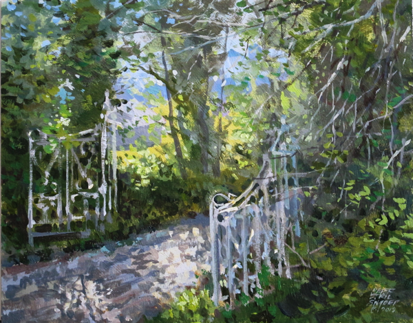 open gate by Peter Etril Snyder 2013