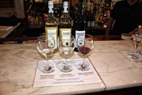 wine tasting at the Riverbend Inn Cynthiaweber.com