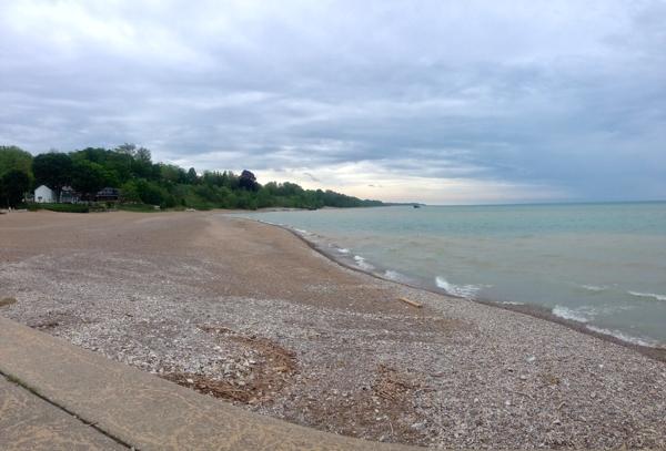 The Beach in Bayfield Ontario  cynthiaweber.com