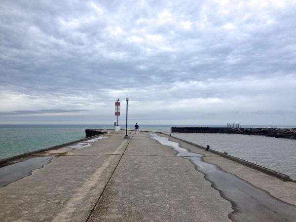 the pier in Bayfield cynthiaweber.com