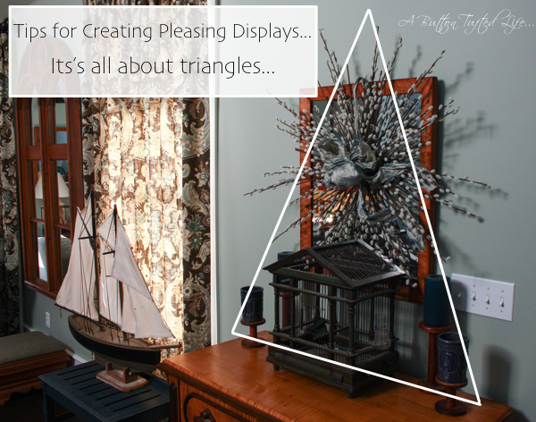 Tips for Creating Pleasing Displays cynthiaweber.com