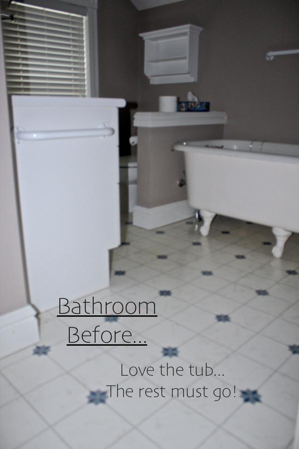 Bathroom before reno...