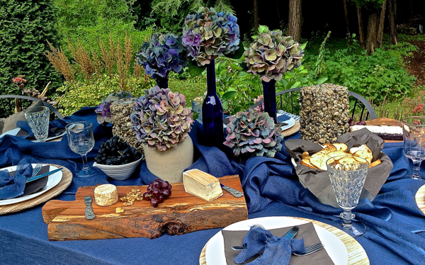 Fall garden party… CynthiaWeber.com