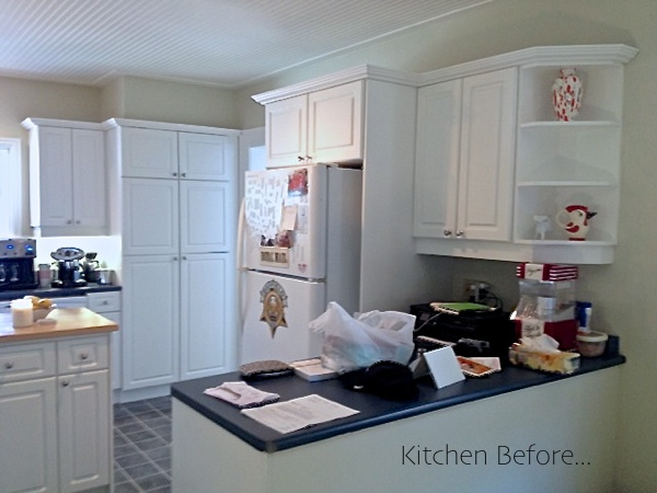 Kitchen Before reno...