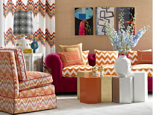 Johnathan Adler fabrics for Kravet