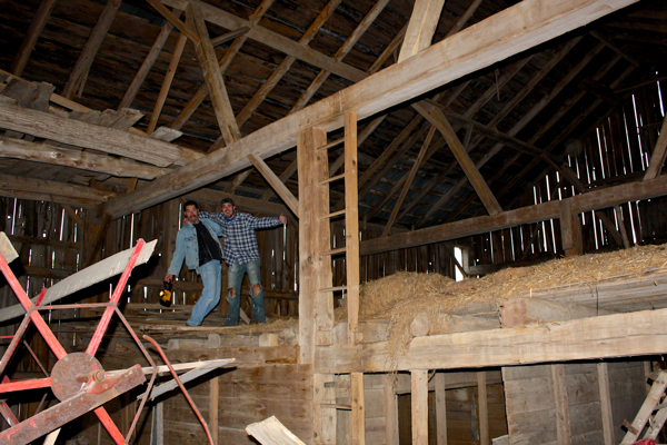 Beautiful Barn we are salvaging