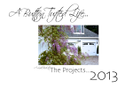 A Button Tufted Life… it was quite a year! The Projects 2013!