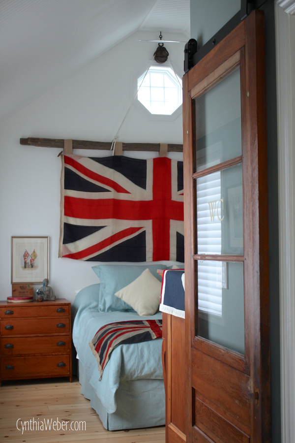 Client Diaries: Jess & Brad… Union Jack Master Bedroom.