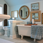 Client Diaries: Jess & Brad… Vintage Glam Bathroom Reveal