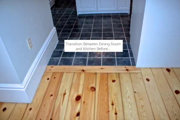 flooring before reno