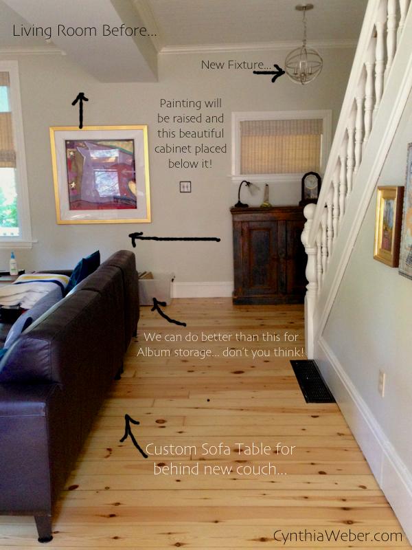 Client Living Room Plan- CynthiaWeber.com
