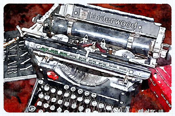 Underwood through the eyes of Waterlogue CynthiaWeber.com