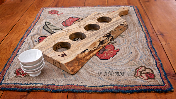 Live Edge Spalted Maple Serving Board for Oils… CynthiaWeber.com