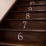 DIY Numbered Staircase…