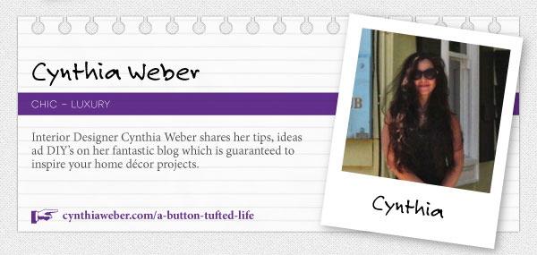 ukdd-top-interior-design-blogs- CynthiaWeber.com