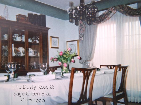 Parents Dining room circa 1990