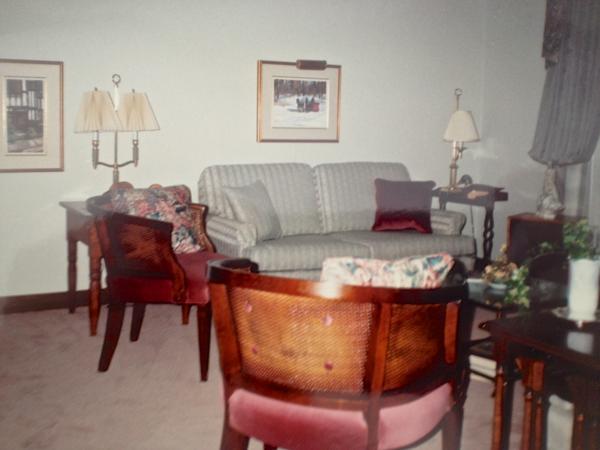 Parents living room circa 1990