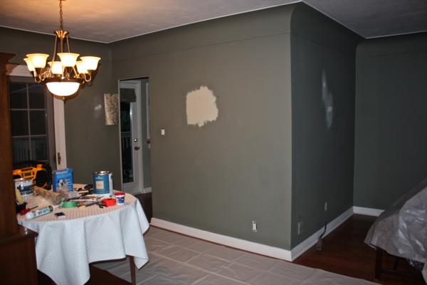 Test paint patch…