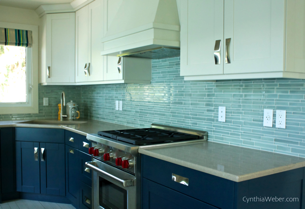 Kitchen reveal… CynthiaWeber.com