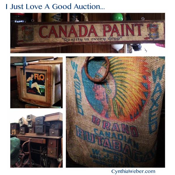 I just LOVE a good Auction… CynthiaWeber.com