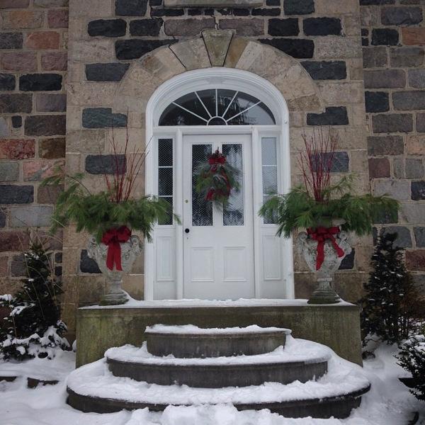 The front door at BannockBurn 1878 … CynthiaWeber.com