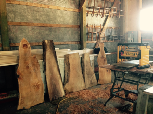 Sunday Musings from Bannockburn 1878… Maple Syrup, Live Edge serving Boards and some R&R