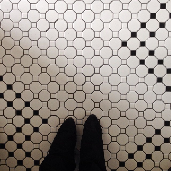 New Bathroom Floors … cynthiaweber.com