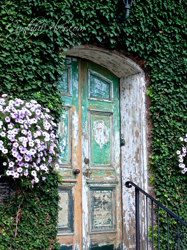 Faded-Fabulous-Doorway…-CynthiaWeber.com_