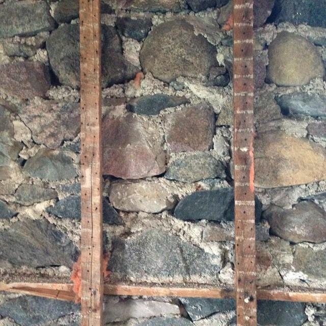 the stone walls at BannockBurn 1878… CynthiaWeber.com