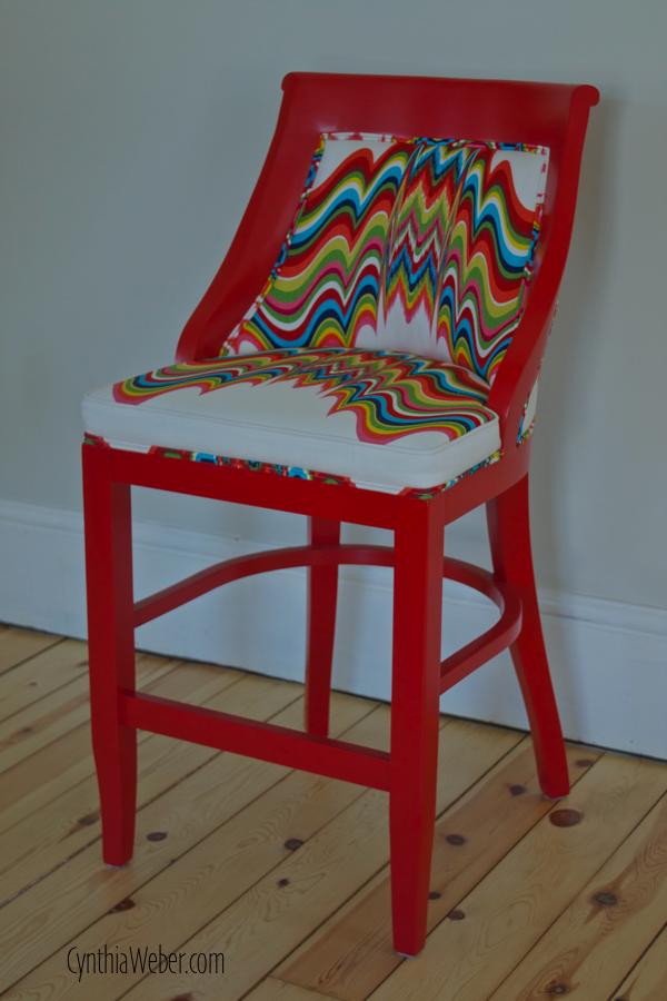 Custom Barstools From Gresham House Furniture Done In