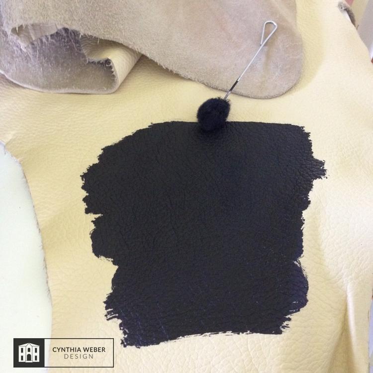Dyeing Leather CynthiaWeber.com