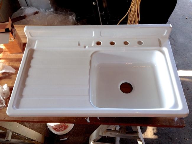 Restoring A Vintage Sink…
