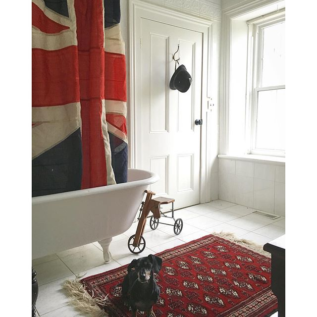 A Touch of Whimsy… the Guest Bathroom at BannockBurn 1878