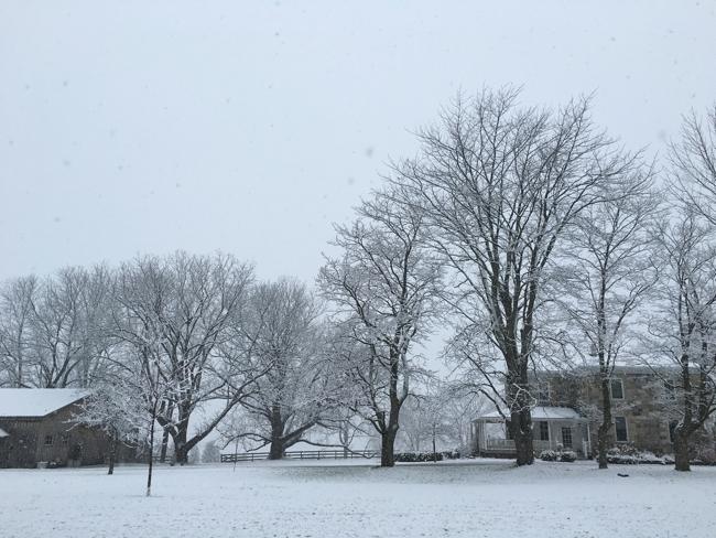 Winter at BannockBurn 1878...