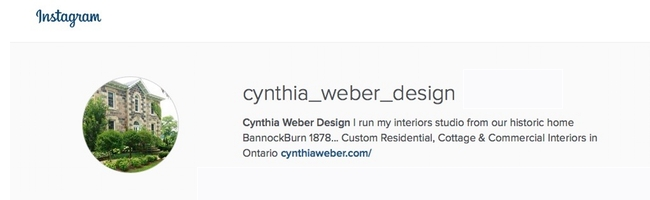 Cynthia Weber Design on Instagram