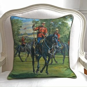 Musical Ride Custom Pillow from the Cynthia Weber Design Home Collection