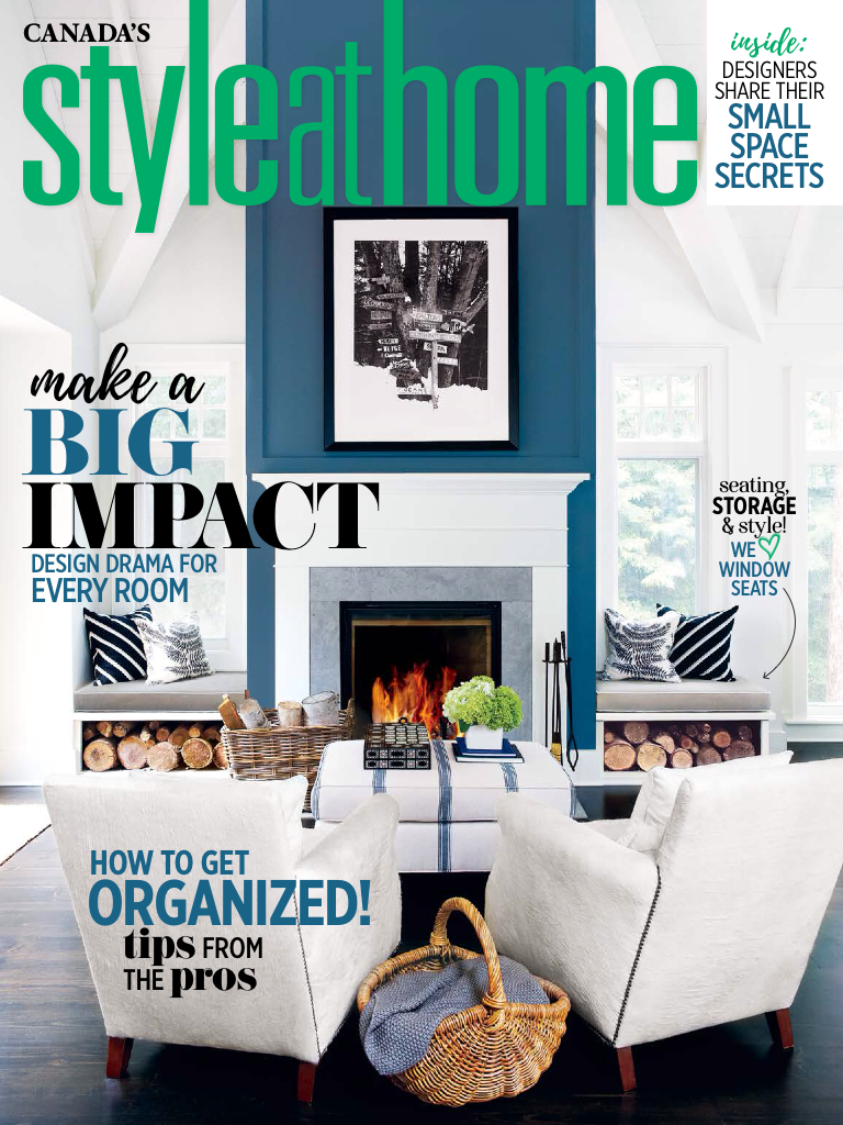 Style at Home Features my Design Studio