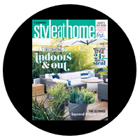 Our Porch Featured IN Style at Home  April 2017