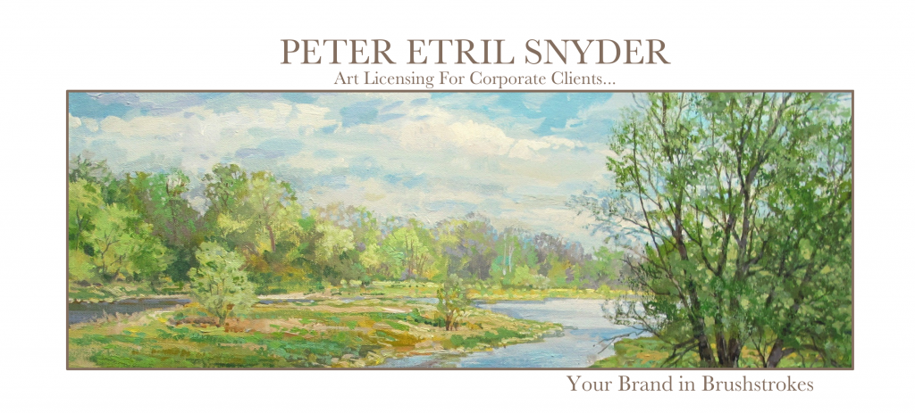 Peter Etril Snyder Art Licensing for Corporate Clients