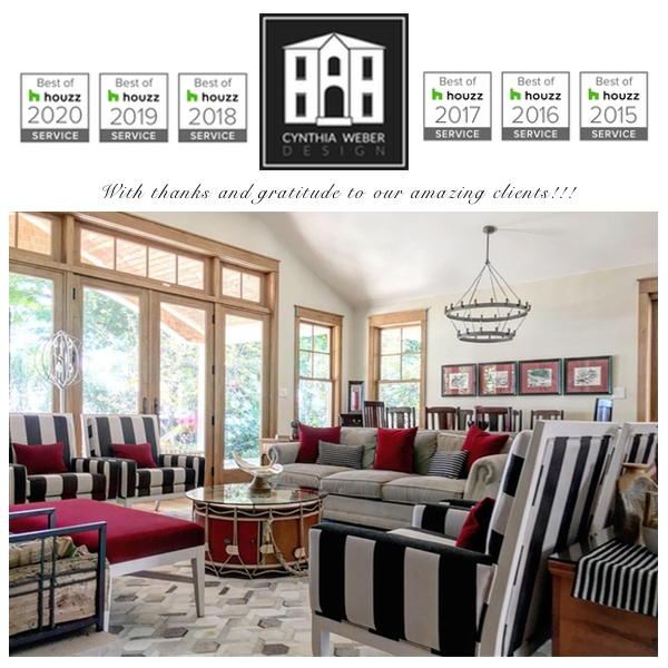 Cynthia Weber Design Awarded Best of Houzz